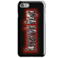 Cutaway Text 2 iPhone Case/Skin