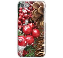 Christmas Background iPhone Case/Skin