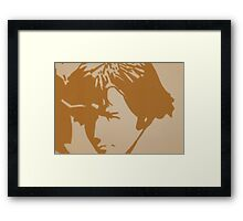 JWFrench Collection Paul (Brown Tint) Framed Print