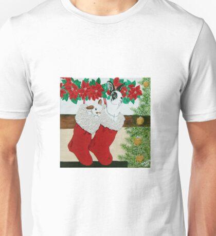 Christmas Card Series 1 - Design 5 Unisex T-Shirt