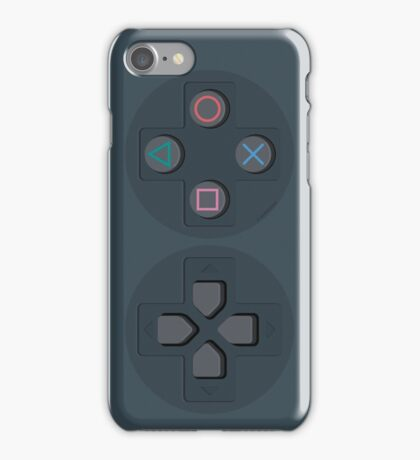 PS Controller D-Pad iPhone Case/Skin