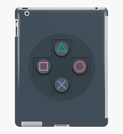 PS Controller D-Pad iPad Case/Skin