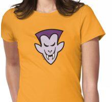 Naughty Halloween Vampire Womens Fitted T-Shirt
