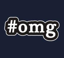 OMG - Hashtag - Black & White One Piece - Short Sleeve