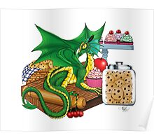 Kitchen Dragon Poster