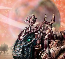 DinoBot by Matt Bissett-Johnson