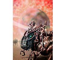 DinoBot Photographic Print