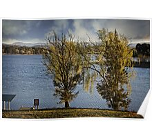Lake Burley Griffin Poster