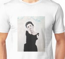 Edith Piaf Portrait Painting Unisex T-Shirt