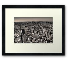 Empire sight Framed Print