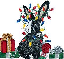 Christmas Card Series 1 - Design 6 by ArtbyMinda