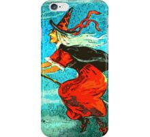 Flying Witch iPhone Case/Skin
