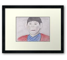 Merlin Framed Print