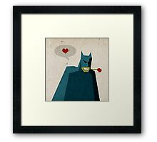 Love is Like War... Framed Print
