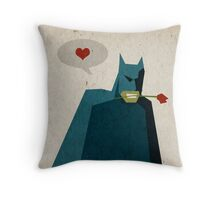 Love is Like War... Throw Pillow