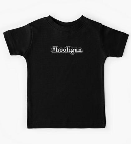 Hooligan - Hashtag - Black & White Kids Tee