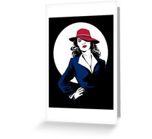 Her name is Agent Greeting Card