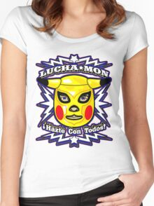 LUCHAMON Women's Fitted Scoop T-Shirt