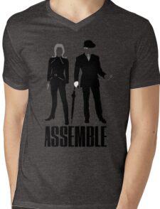 The Original Avengers Assemble Mens V-Neck T-Shirt