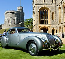 Bentley Embiricos Poutout Coupe 1938 at Windsor by MarcW