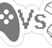 Video Game Controllers - Joypad vs Mouse and Keyboard (WASD) Sticker