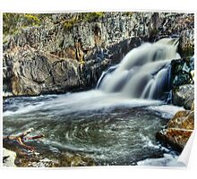 Summer Hill Creek Waterfall Number 2 Poster