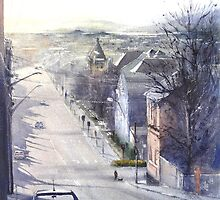 Saturday Arvo - Tamar Street, Launceston by Phillip Austen