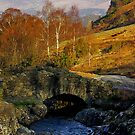 Ashness Bridge  Lake District by Trevor Kersley