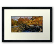Ashness Bridge  Lake District Framed Print