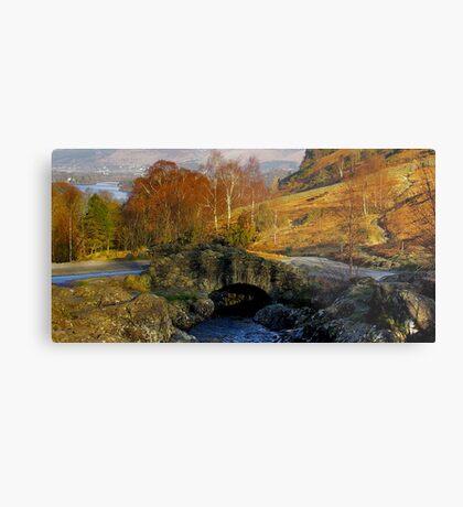 Ashness Bridge  Lake District Metal Print