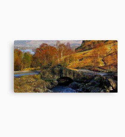 Ashness Bridge  Lake District Canvas Print