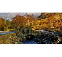 Ashness Bridge  Lake District Photographic Print