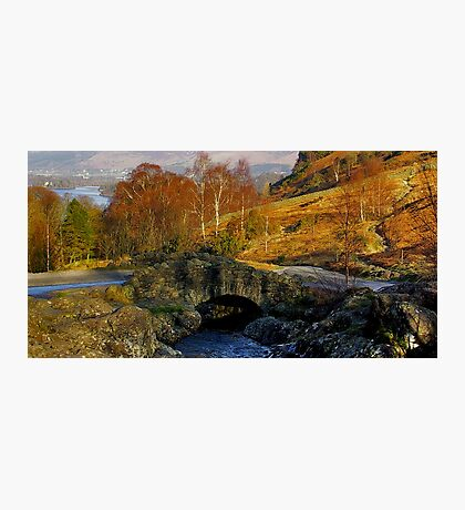 Ashness Bridge  Lake District Photographic Print