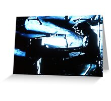 JWFrench Collection The Pianist Original Work Greeting Card
