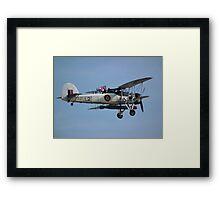 RNHF Fairey Swordfish Framed Print