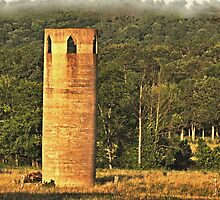 An East Tennessee Farmer's Version of a Castle by © Bob Hall