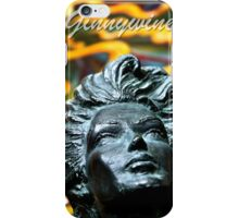 Woman Surrounded By Fire iPhone Case/Skin