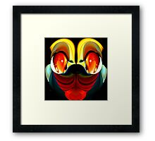 faces & creatures 044 Framed Print