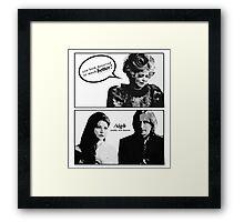 When Effie is the Rumbelle fandom. Framed Print