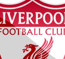 Liverpool Liver Bird Red  Sticker
