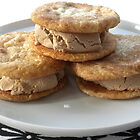 Cardamom Snickerdoodle Ice Cream Sandwiches by Karla  Cyr