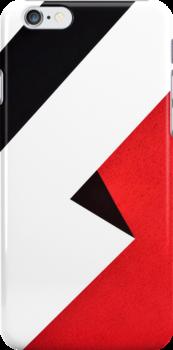 Bauhaus iPhone case by metronomad