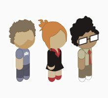 The IT Crowd - Cute Roy, Moss and Jen Kids Clothes