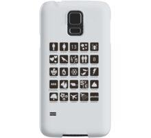 Phobia list Samsung Galaxy Case/Skin