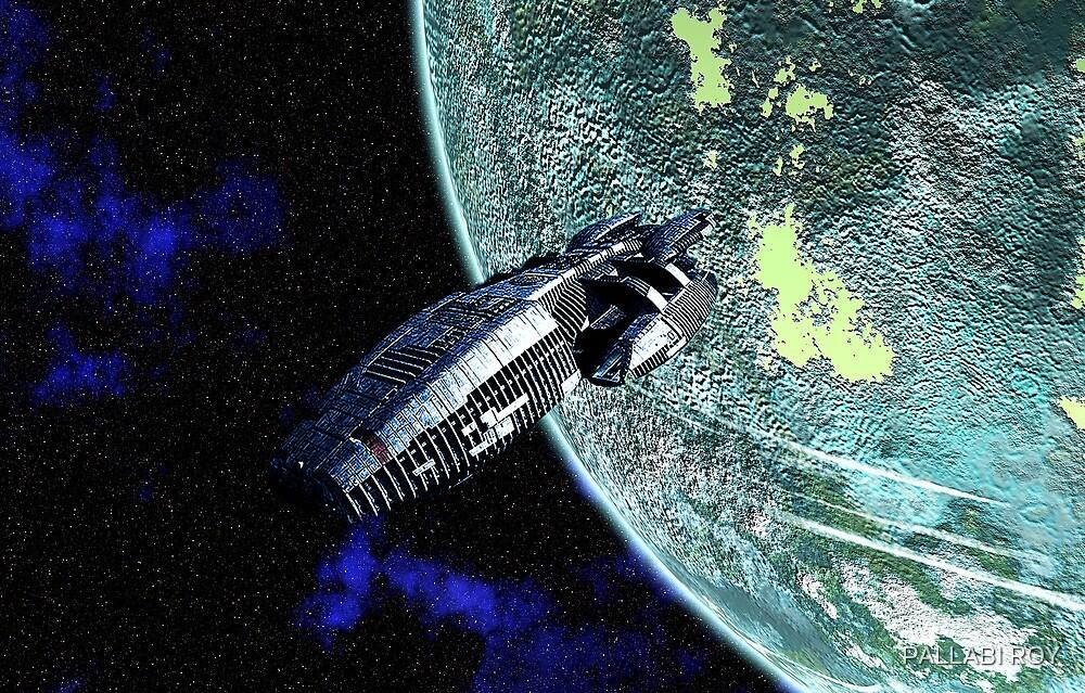 SPACESHIP by PALLABI ROY