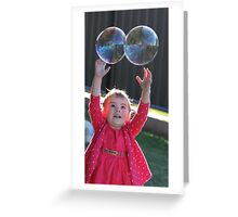 Double Bubbles Greeting Card