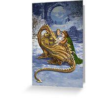 The Dragon's Apprentice Greeting Card