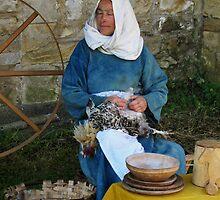 Peasant Woman by Carol Bleasdale