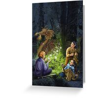 The Shadow Hunters Greeting Card