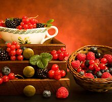 Still Life With Berries by savage1